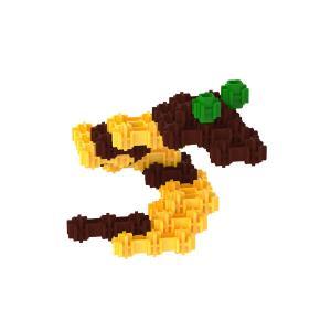 Сборная игрушка Змея детского конструктора Фанкластик