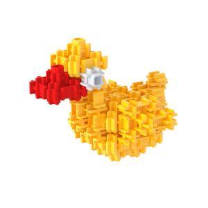 Сборная игрушка Уточка детского трёжмерного конструктора Фанкластик