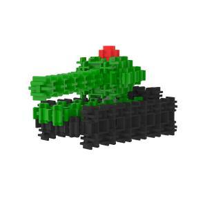 Сборная игрушка Танк Средний детского конструктора Фанкластик