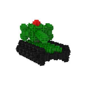 Сборная игрушка Танк Большой детского конструктора Фанкластик