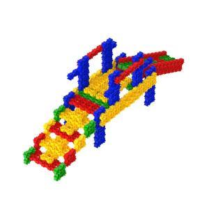 Slide - Fanclastic - 3D creative building set for childre