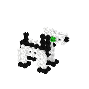 Doggie - Fanclastic - 3D creative building set for children