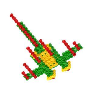 Plane - Fanclastic - 3D creative building set for children
