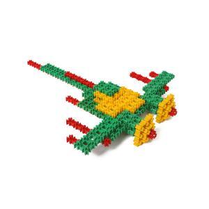 Самолёт - конструктор для детей Фанкластик