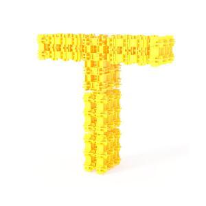 Детский конструктор Фанкластик - Буква Т