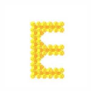 Детский конструктор Фанкластик - Буква Е