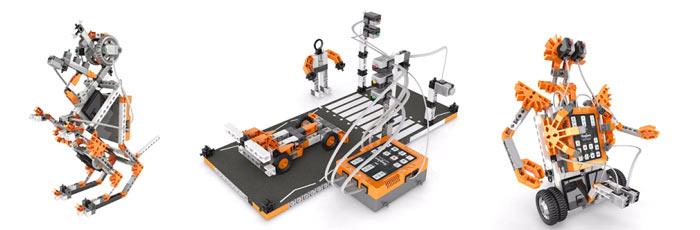 Модели Engino серии Robotics PRO для детей от 8 до 16 лет