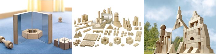 Набор  HABA Logic Building Blocks