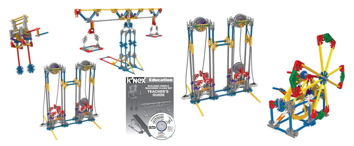 Модели из набора  K'NEX Education Sets