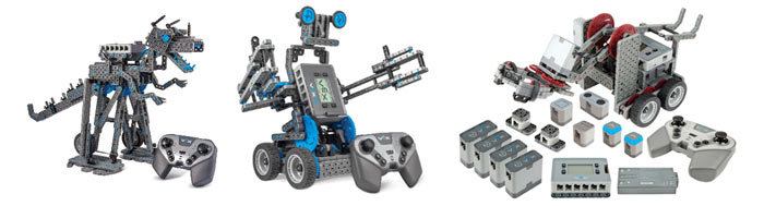 Модели роботов и детали наборов серии VEX IQ