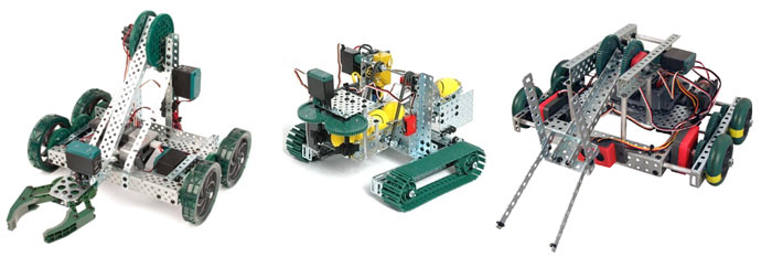 Образцы моделей роботов из наборов VEX IQ Starter Kit
