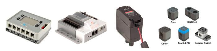Элементы VEX: мотор, контроллеры, датчики
